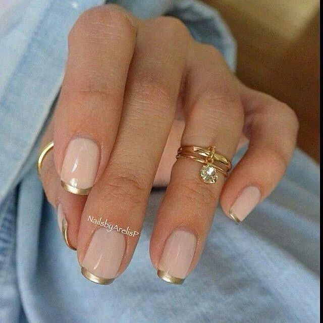 //gold tips//