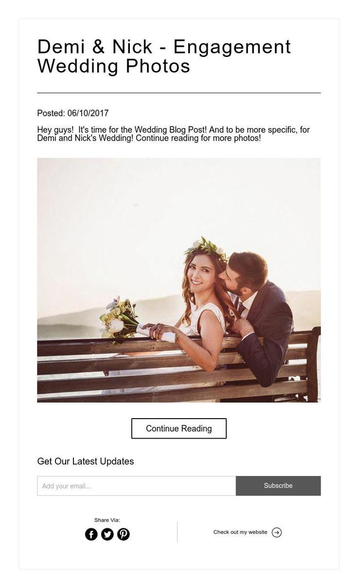 Demi and Nick - Engagement & Wedding Photos