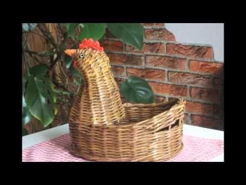 Чудесные курочки и уточки из газетных трубочек - YouTube