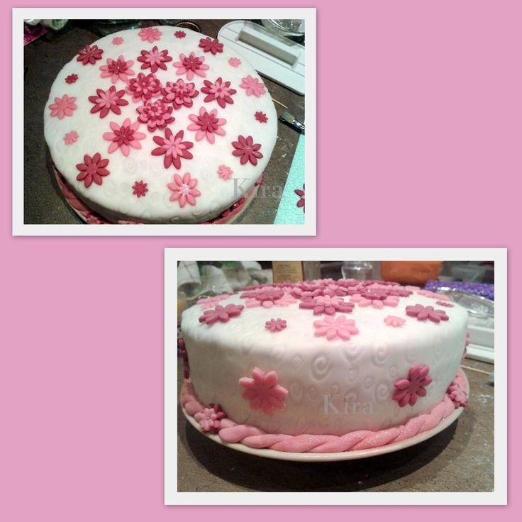 4. Květinový dort pro maminku. 2013