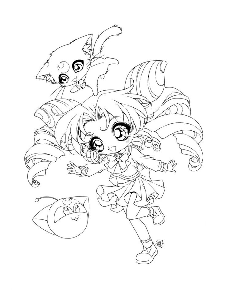 Small Lady By Sureya On Deviantart Sailor Moon Coloring Pages Animal Coloring Pages Cool Coloring Pages