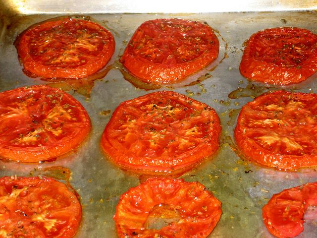 roasted tomatoes | Recipes - Apps, Sides, Soups, Snacks & Sauces | Pi ...