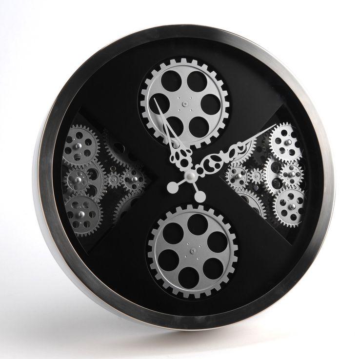 128 best images about deco on pinterest metal homes magnets and metals - Horloge avec mecanisme apparent ...