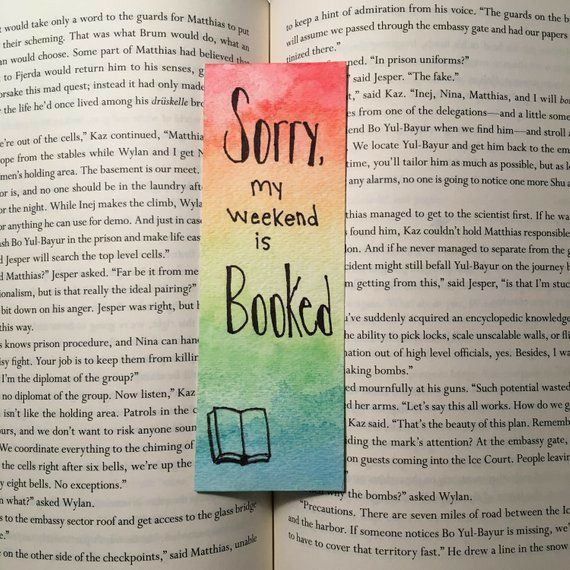 Pin De Sanawar En Books Bookish Stuff En 2020 Separador De Libros Creativos Marcas De Libros Hacer Separadores De Libros