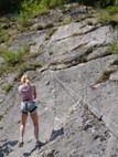 Wij organiseren Rots klimmen in Abruzzo Italie mini camping