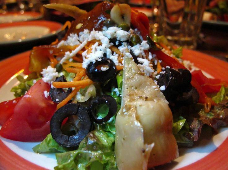Diyet İtalyan Salatası