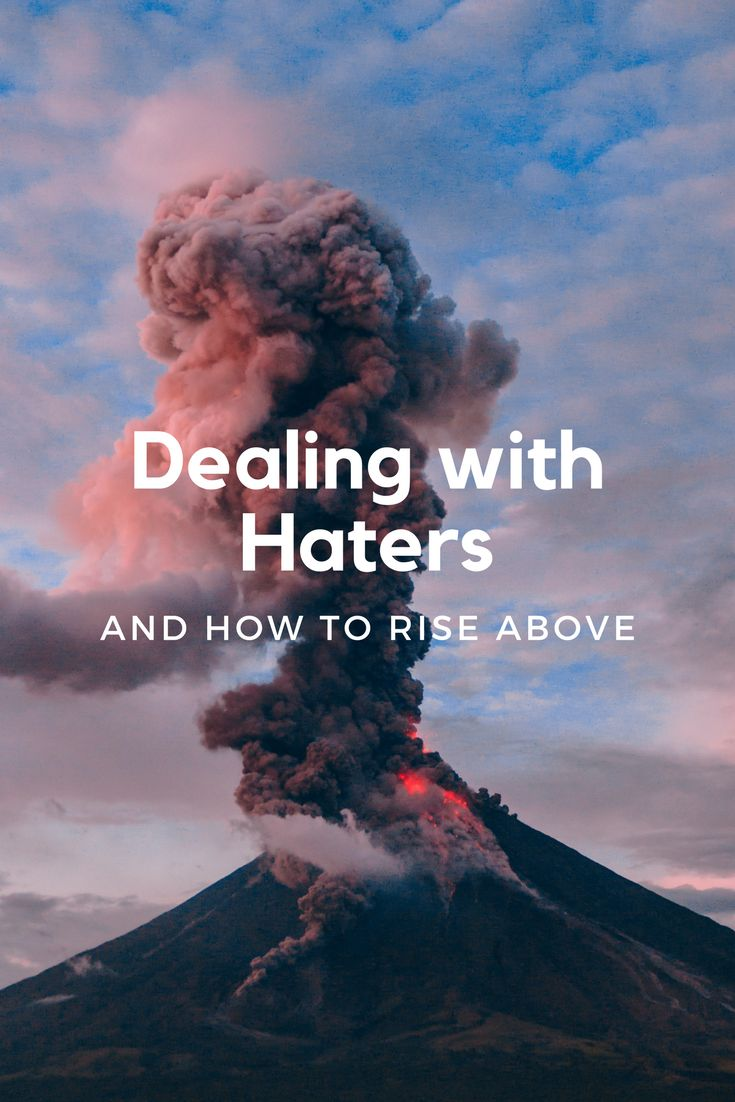 DEALING WITH HATERS and HOW TO RISE ABOVE... #mindset #businesswoman #entrepreneur https://biancaosbourne.com/blog/dealing-with-haters-and-how-to-rise-above