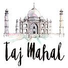 Taj Mahal by creativelolo