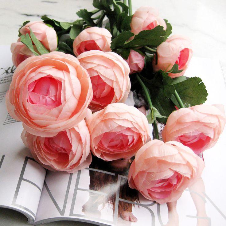 Super Artificial Flower Silk Flower Artificial Flower Decoration Flower  Home Decoration Small Camelias Tea Rose Sweets