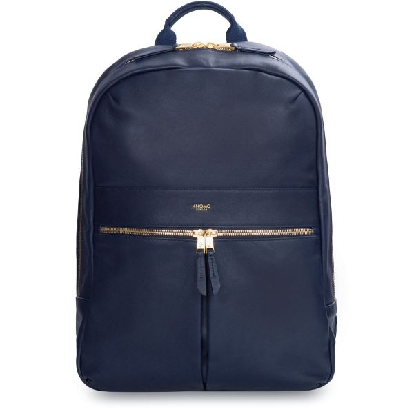 Beaux Laptop Backpack from KNOMO: Official Store | Womens Backpack | Navy Backpack | Laptop Bags | Designed by KNOMO London
