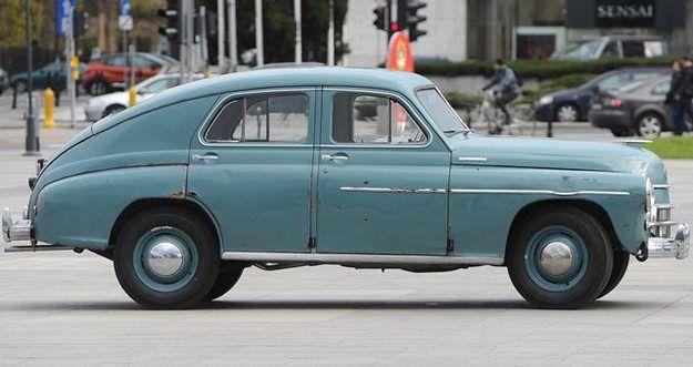 Warszawa - Pope JP II car