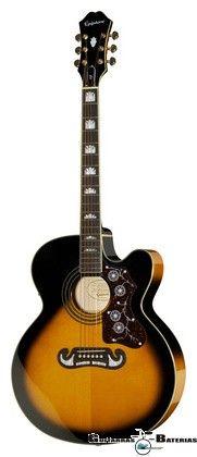 Epiphone EJ-200SCE guitarra electroacustica. Compra en Colombia