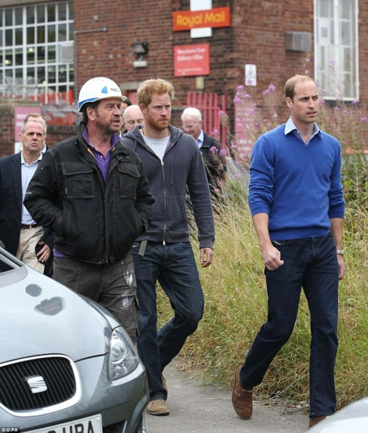 DIY SOS' resident electrician gives royals a pet name