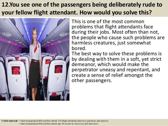 24 best flight attendant images on pinterest interview questions top 10 flight attendant interview questions answers pdf fandeluxe Images