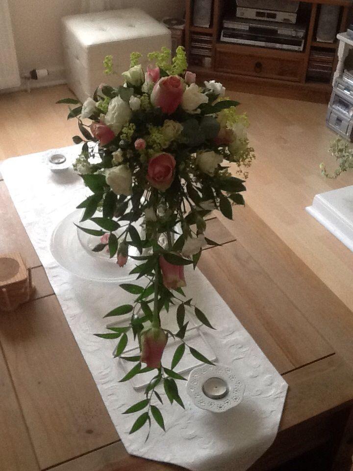 Rose shower bouquet