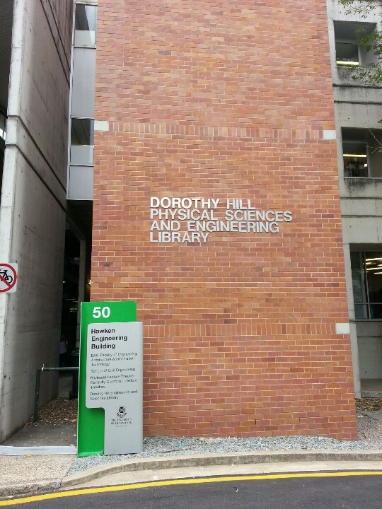Dorothy Hill Physical Sciences and Engineering Library
