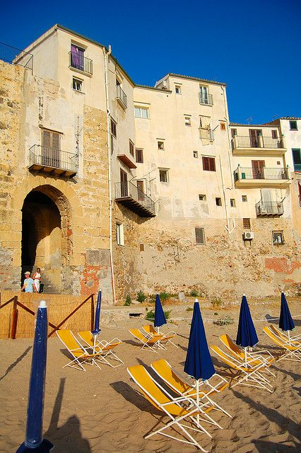 Cefalù, Palermo, Sicily....I turned 18 years old on these Palermo beaches!
