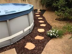 Intex Above Ground Pool Landscaping Ideas 94 best above ground pool landscaping images on pinterest | pool