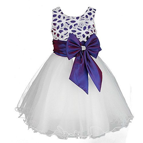 Girls Flower Formal Wedding Bridesmaid Party Christening Dress Children Clothing Girls Lace Dress Princess Dresses Kid Baby Clothes age 2-12 years discoball http://www.amazon.co.uk/dp/B00MP5A8N2/ref=cm_sw_r_pi_dp_ggy8ub0GECVV0