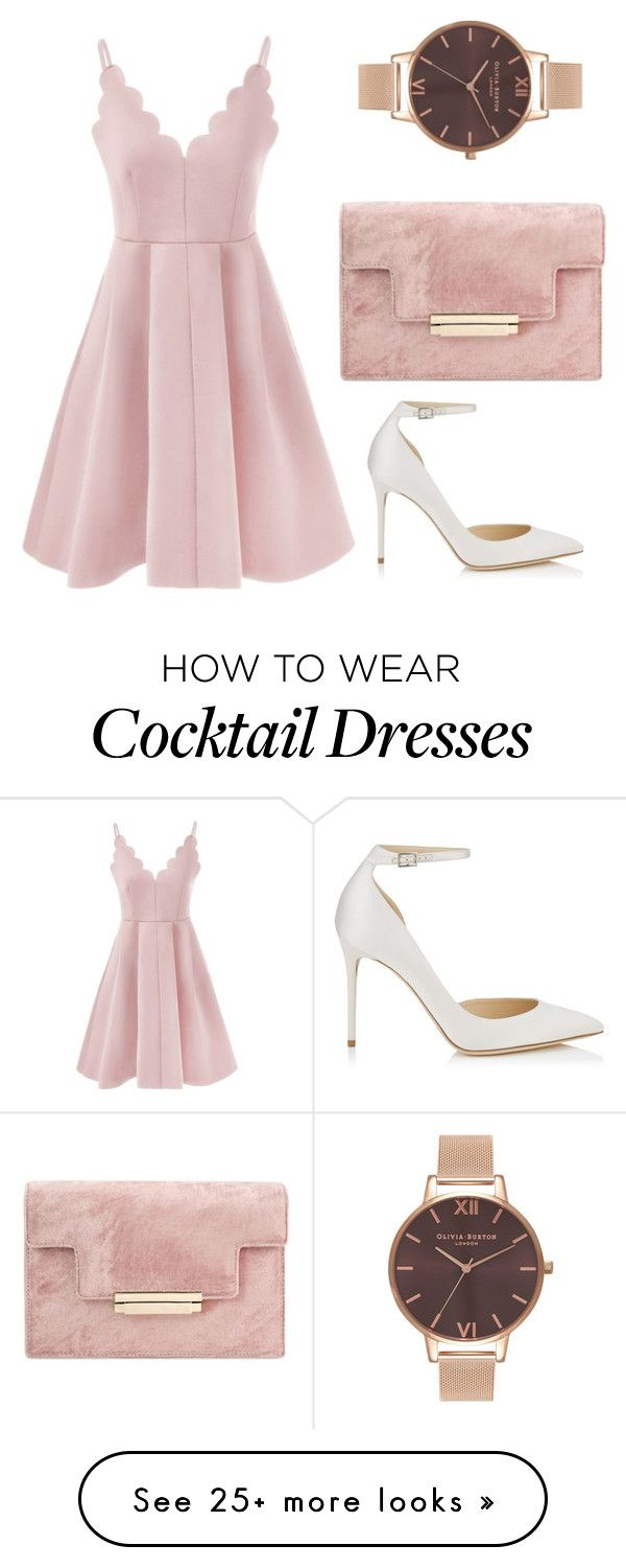 """Без названия #653"" by lena-bobkova on Polyvore featuring Jimmy Choo and Olivia Burton"