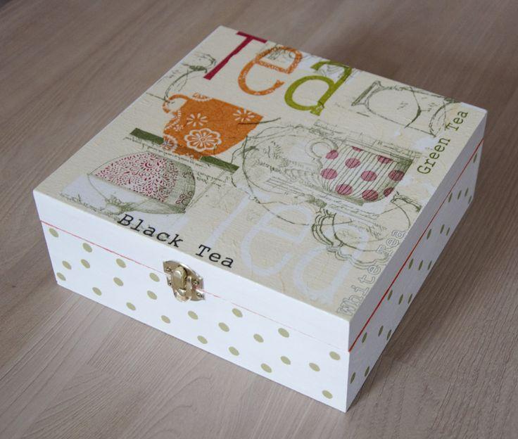 boite à thé en bois : Boîtes, coffrets par planete-b