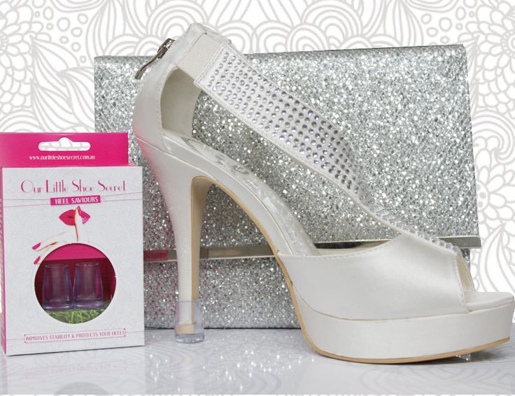 The Vases. Keep your heels clean with Heel Saviours. No more damaging your Stems on hard surfaces. www.ourlittleshoesecret.com.au