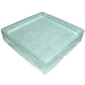 Heavy Glass. Glass: Low Iron. Color: White Metallic. Pattern: Rocky Mountain.