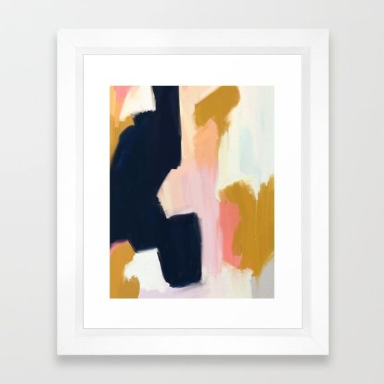 Framed art print featuring kali by patricia vargas
