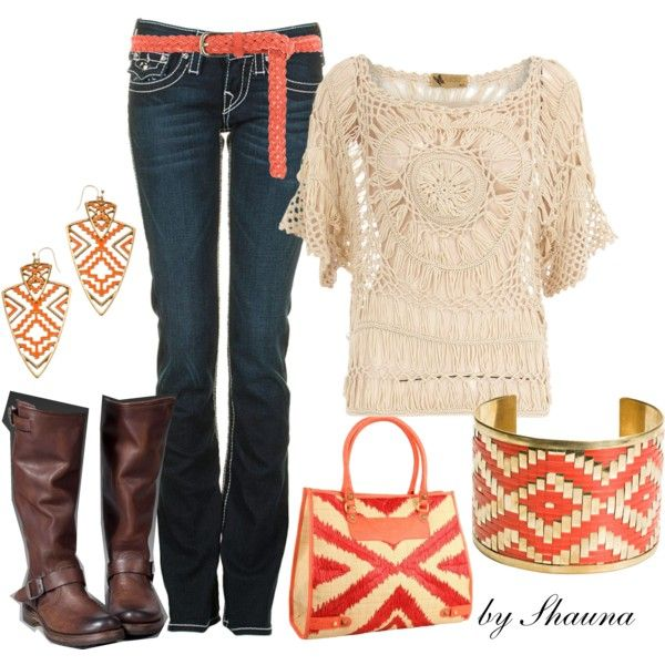 """""""crochet shirt"""" by shauna-rogers on Polyvore"""