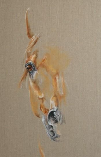 #Horse: Nice use of positive & negative space. #Equine Art (Dunway Enterprises) http://dunway.com/horse_articles/index.html