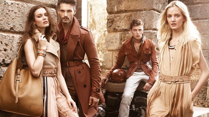 Jac Jagaciak, Maud Welzen and Daria Strokous for Belstaff Spring 2013 by Craig McDean