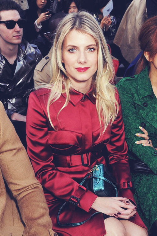 Melanie Laurent in Burberry