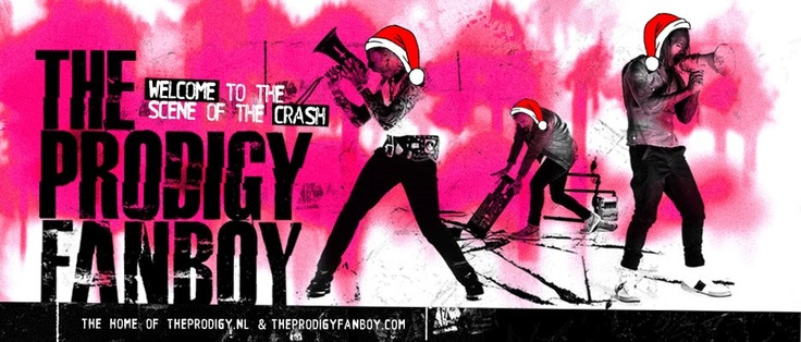The Prodigy Fanboy Christmas Banner Header.