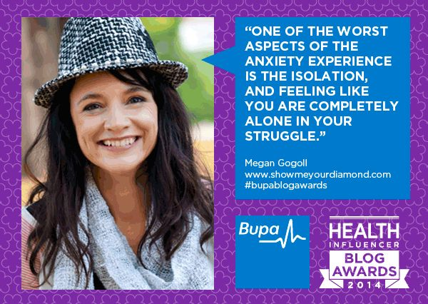 BUPA Blog health award nominee for social good!