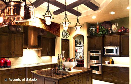 decorating above kitchen cabinets tuscany | French Country Decor Decorating Products Images French Decor for ...