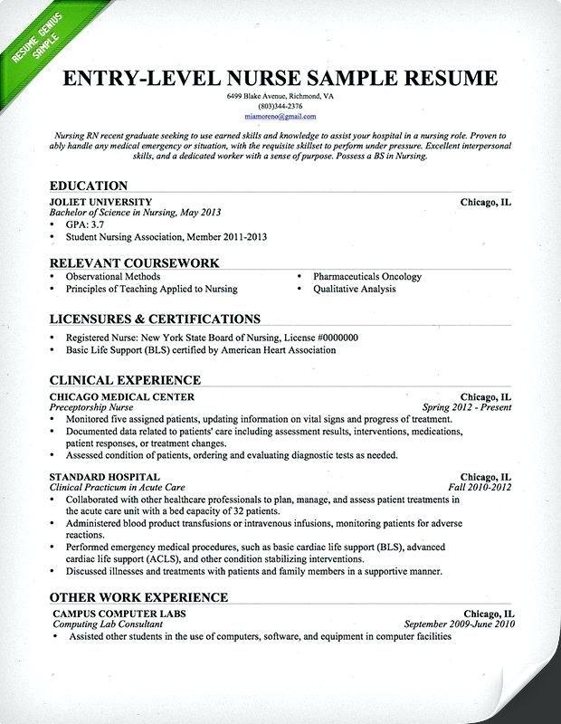 Write A Resume Template 2019 Registered Nurse Resume Nursing