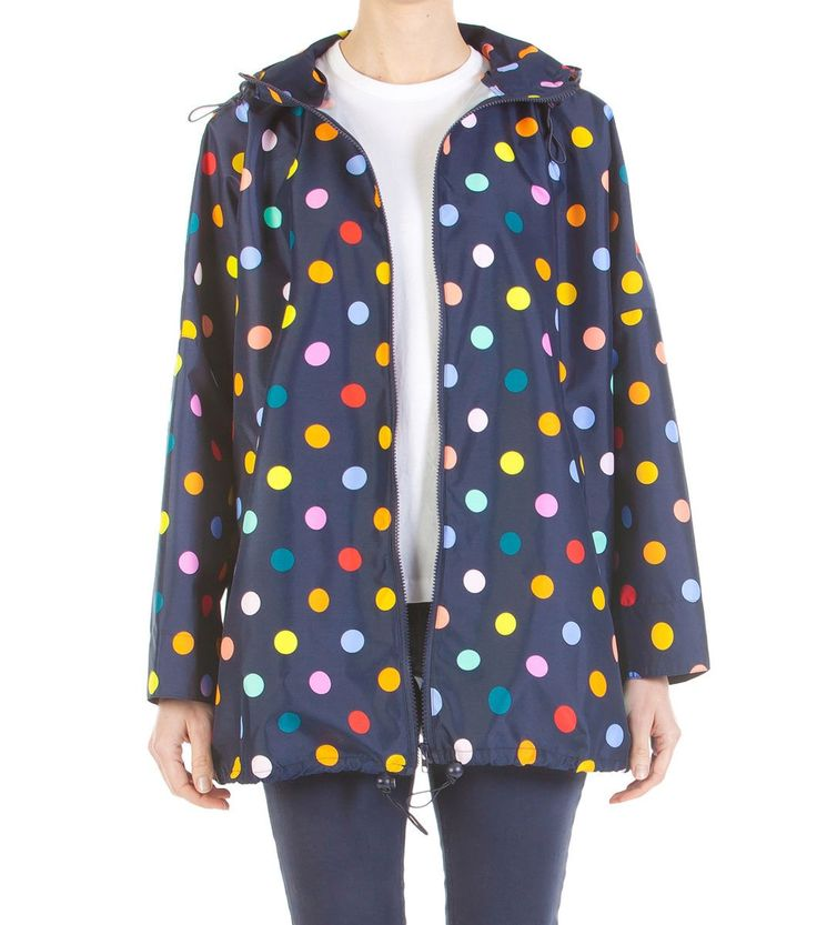 Go to all your cool or wet weather Style Dot's events wearing your Polka Dot jacket.