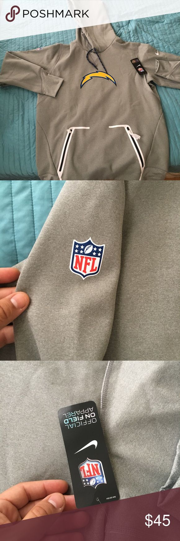 Los Angeles Chargers Football NFL Nike Tech Fleece Los Angeles Chargers Football NFL  Nike Tech Fleece  Size Large  Brand New With Tags.  Nike Tech Fleece Hoodie.  Retail 125$.  Perfect for the football season. Great Quality perfect for a Christmas Gift.  Ignore: Adidas Nike Jordan Jumpman off White Burberry three stripes retro banned royal hypebeast supreme sports football basketball baseball dodgers Yankees Green Bay Giants patriots bills browns bears astros chargers raiders Rams angels…