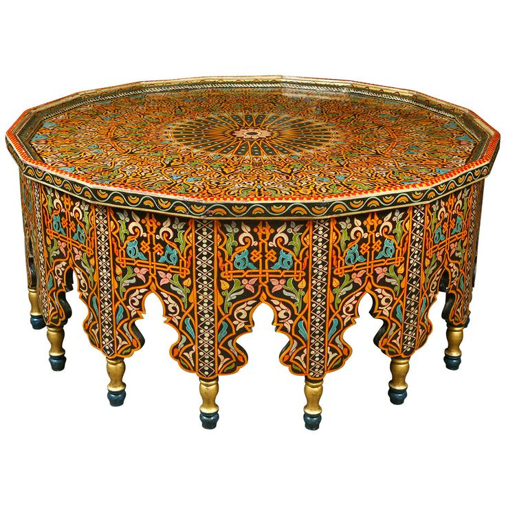 Fabulous Moroccan Coffee Table | From a unique collection of antique and modern tables at https://www.1stdibs.com/furniture/tables/tables/