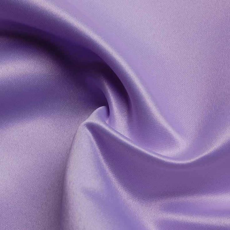 Lavender Satin Tablecloth
