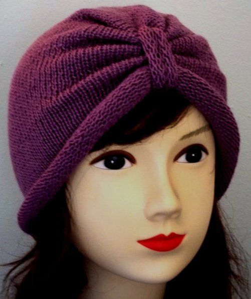 Knitted turban hat for women by accessoriesbyrita on Etsy, $20.00