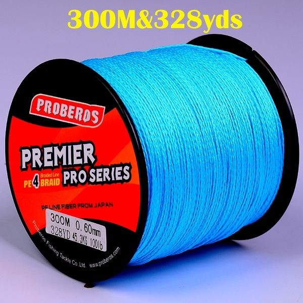1pc Pe Fishline Fishing Braided Line 300m 328yds Fishing Line 4