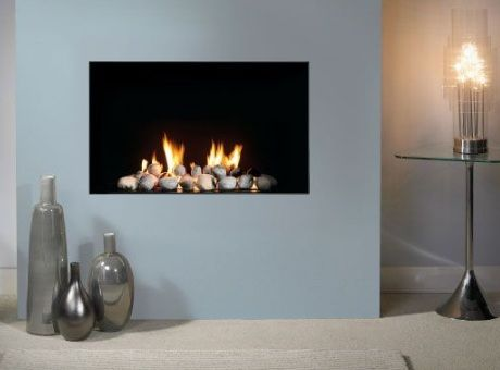 Trimless Decorative Gas Fire