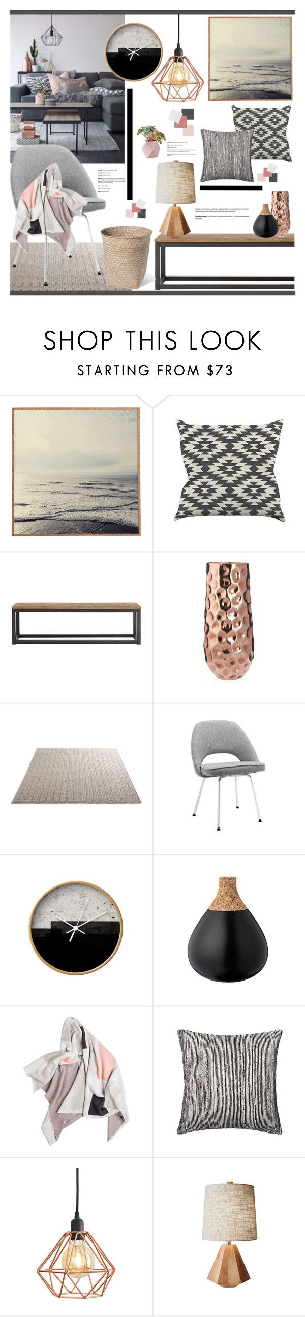 """""""Untitled #2481"""" by liliblue on Polyvore featuring interior, interiors, interior design, home, home decor, interior decorating, Lyell and Dot & Bo"""
