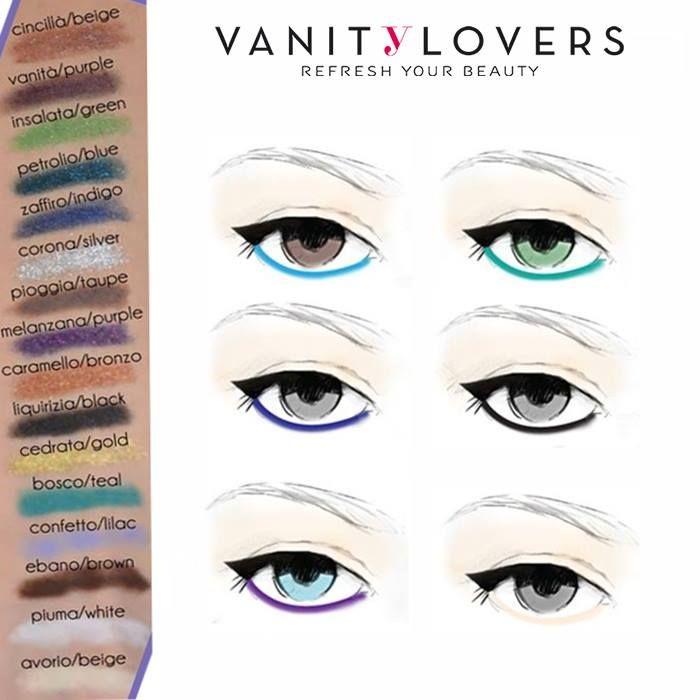 Scopri tutti i colori dell matite occhi Neve Cosmetics e divertiti a realizzare makeup frizzanti e colorati! http://www.vanitylovers.com/prodotti-make-up-occhi/matite-occhi.html?utm_source=pinterest.com&utm_medium=post&utm_content=vanity-matite-occhi&utm_campaign=pin-vanity