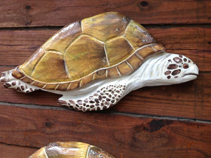 Sea turtle quot chainsaw wood reptile carving endangered