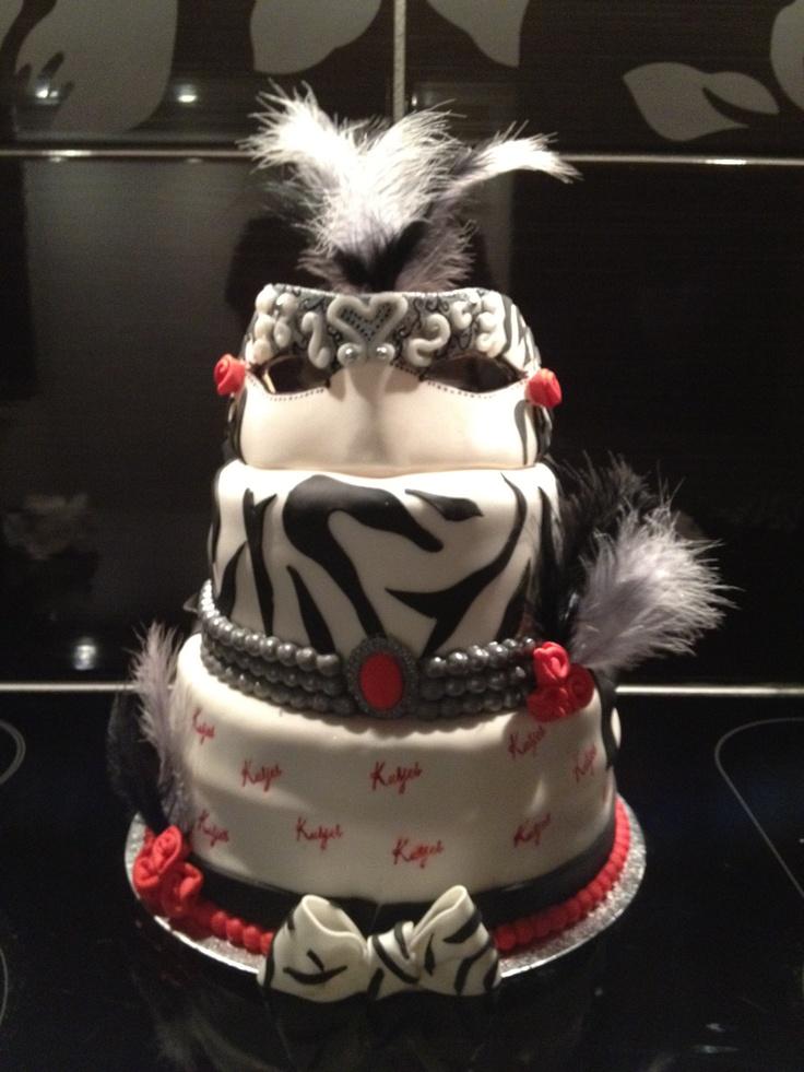 Maskerade cake