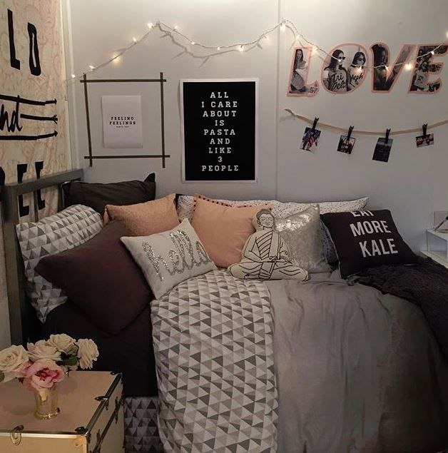 These chic items are perfect for your dorm room.