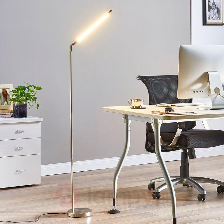 Minimalistyczna lampa stojąca LED Jabbo do czyt. 9620455