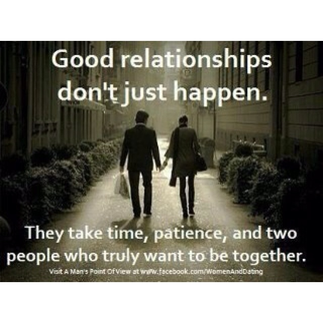 how to let a relationship progress naturally